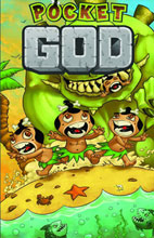 Image: Pocket God Vol. 01 SC  (digest variant cover) - Ape Entertainment