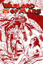 Image: Warlord of Mars #6 (10-copy Sadowski red incentive cover) (v10) - D. E./Dynamite Entertainment