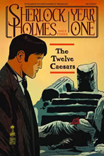 Image: Sherlock Holmes: Year One #3 (20-copy Campbell B&W incentive cover) (v20) - D. E./Dynamite Entertainment