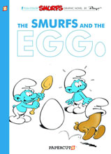 Image: Smurfs Vol. 05: The Smurfs and the Egg HC  - Papercutz
