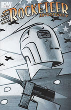 Image: Rocketeer Adventures 2 #1 (10-copy incentive cover) (v10) - IDW Publishing