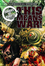 Image: Zombies vs. Robots: This Means War Prose HC  - IDW Publishing