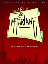 Image: Art of Todd McFarlane: The Devil's in the Details SC  - Image Comics