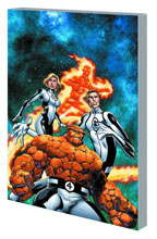 Image: Fantastic Four Vol. 01: New Departure, New Arrivals SC  - Marvel Comics