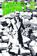 Image: Mark Waid Green Hornet #1 (15-copy Rivera B&W line art incentive cover) - Dynamite