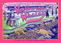 Image: Amazing, Enlightening & Absolutely True Adventures of Katherine Whaley HC  - Fantagraphics Books