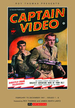 Image: Roy Thomas Presents Captain Video HC  - PS Artbooks
