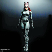 Image: Dark Knight Trilogy Play Arts Kai Action Figure No. 03: Catwoman  - Dc Heroes