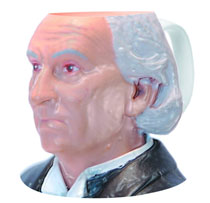 Image: Doctor Who 1st Doctor Figural Mug  - Doctor Who