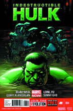 Image: Indestructible Hulk #4 (variant 2nd printing cover - Leinil Francis Yu) - Marvel Comics