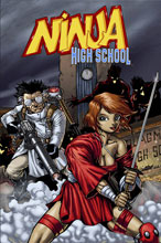 Image: Ninja High School #176 - Antarctic Press