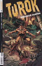 Image: Turok: Dinosaur Hunter #2 (50-copy incentive cover - Castro Orig Art) - Dynamite