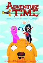Image: Adventure Time: A Totally Math Poster Collection SC  - Abrams