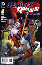 Image: Harley Quinn #1 (variant 3rd printing cover)  [2014] - DC Comics