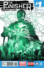 Image: Punisher #1 (variant 2nd printing cover - Mitch Gerads)  [2014] - Marvel Comics