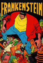 Image: Frankenstein: The Mad Science of Dick Briefer HC  - Dark Horse Comics
