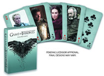 Image: Game of Thrones Playing Cards  - Dark Horse Comics