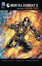 Image: Mortal Kombat X Vol. 01: Blood Ties SC  - DC Comics