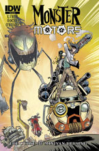 Image: Monster Motors: The Curse of Minivan Helsing #2 - IDW Publishing