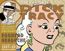 Image: Complete Chester Gould's Dick Tracy Vol. 18: 1957-1959 HC  - IDW Publishing