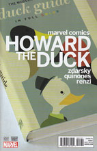 Image: Howard the Duck #1 (Zdarsky variant cover - 00131) - Marvel Comics