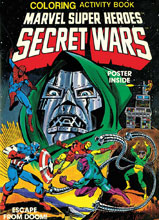 Image: Marvel Super Heroes Secret Wars Activity Book Facsimile Collection SC  - Marvel Comics