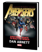 Image: Avengers: Everybody Wants to Rule the World Prose Novel HC  - Marvel Comics
