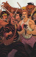 Image: Big Trouble in Little China #10 (variant incentive cover - Moore) (20-copy) - Boom! Studios