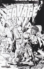 Image: Altered States: Doc Savage #1 (variant incentive cover - Tan B&W) (10-copy) - Dynamite