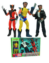 Image: Marvel Retro Action Figure Set: Wolverine  (8-inch) (limited edition) -
