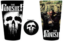 Image: Punisher 2-Pack Bottom Print Glass Set  -