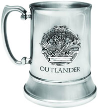 Image: Outlander Stein  (Stainless Steel) - Dark Horse Comics
