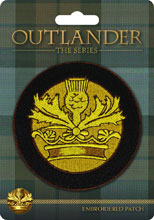 Image: Outlander Patch: Crown & Thistle  - Dark Horse Comics