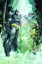 Image: Batman / Teenage Mutant Ninja Turtles #4 - DC Comics