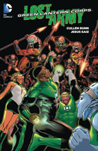 Image: Green Lantern Corps: Lost Army SC  - DC Comics