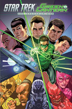 Image: Star Trek / Green Lantern: The Spectrum War SC  - IDW Publishing