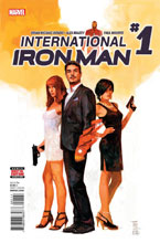 Image: International Iron Man #1 - Marvel Comics