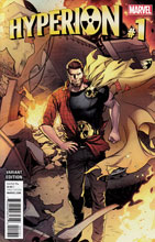 Image: Hyperion #1 (Lupacchino variant cover - 00131) - Marvel Comics