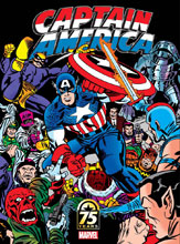 Image: Captain America 75th Anniversary Magazine #1 (Kirby cover) - Marvel Comics