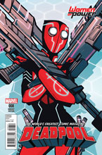 Image: Deadpool #8 (variant cover - Wu Women of Power) - Marvel Comics