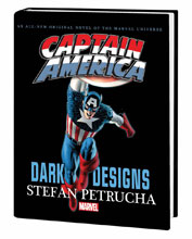 Image: Captain America: Dark Designs Prose Novel HC  - Marvel Comics