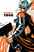 Image: Mighty Thor #4 by Cho Poster  - Marvel Comics