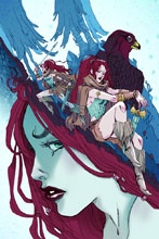Image: Red Sonja Vol. 3 #3 (cover C - Sauvage Virgin Art) - Dynamite