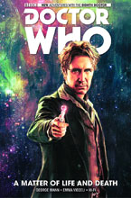 Image: Doctor Who: 8th Doctor Vol. 01 - Matter of Life and Death HC  - Titan Comics
