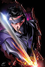 Image: Ninjak #13 (cover B - Haley) - Valiant Entertainment LLC