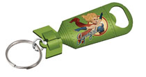 Image: DC Bombshells Opener Keychain: Supergirl 24-Piece Bag  - Cryptozoic Entertainment