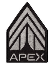 Image: Mass Effect Andromeda Embroidered Patch: APEX  - Dark Horse Comics