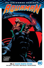 Image: Aquaman Vol. 02: Black Manta Rising SC  - DC Comics