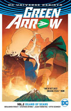 Image: Green Arrow Vol. 02: Island of Scars SC  - DC Comics