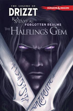 Image: Dungeons & Dragons: Legend of Drizzt Vol. 06 - The Halfings Gem SC  - IDW Publishing